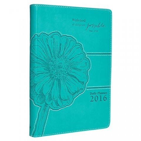 2016-Turquoise-Faux-Leather-Inspirational-Executive-Planner-Matthew-1926-0